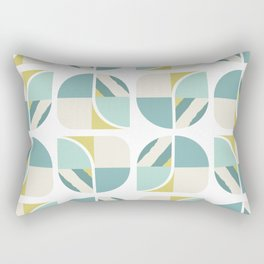 Vintage 60s geometry pattern 6 Rectangular Pillow
