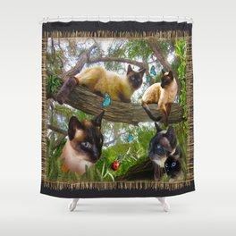 Sophie's Garden Shower Curtain