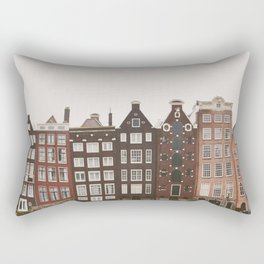 Amsterdam Crooked Row Rectangular Pillow