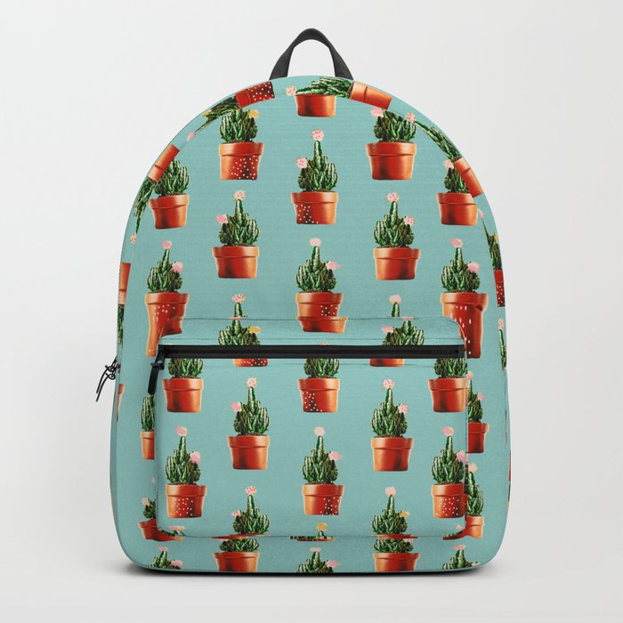 Cactus in Copper Pots #society6 #decor #buyart Backpack
