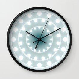 Dazzling circle lights Wall Clock