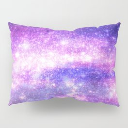 Purple Pastel Stars Pillow Sham