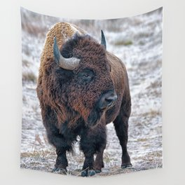 In The Presence Of Bison #society6 #decor #bison by Lena Owens @OLena Art Wall Tapestry