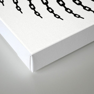 Disc Golf Basket Chains Canvas Print