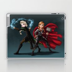 Thunder and Frost Laptop & iPad Skin