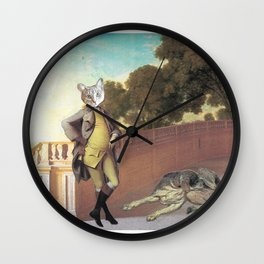 The Difference Between Cats and Dogs Wall Clock