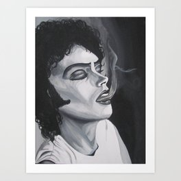 Frank-N-Furter Art Print