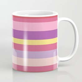 Crazy Summer Stripes Coffee Mug