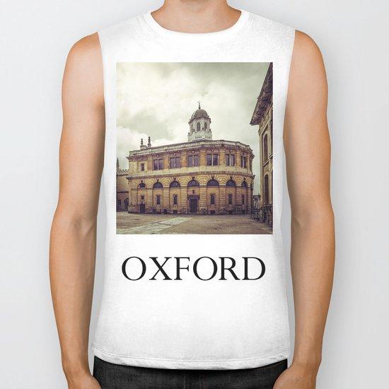 Oxford: Sheldonian Theater Biker Tank