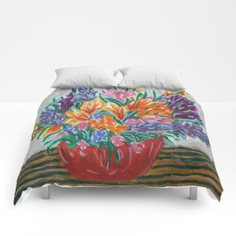 Flowers That Never Wilt Comforters