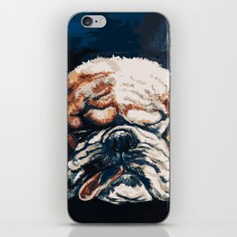 Bull Dog iPhone Skin