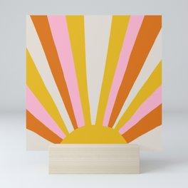 sunshine state of mind Mini Art Print