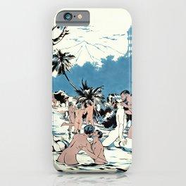 Baño en el Río Acahupa iPhone Case