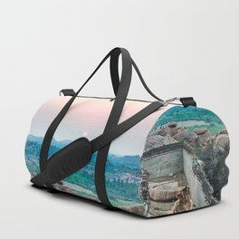 Sunset in the Lost World Duffle Bag