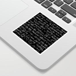 Literary Giants Pattern Sticker