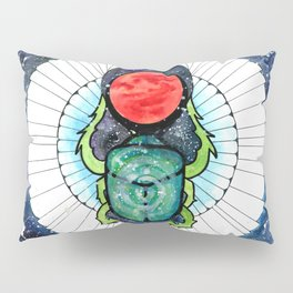 Space Beetle Pillow Sham