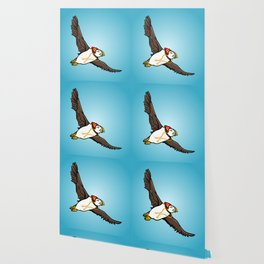 Puffin Wearing A Hat Wallpaper