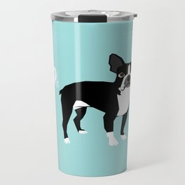 Boston Terrier funny fart dog pure breed gifts dog lovers Travel Mug