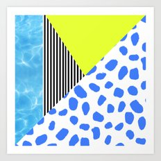 Post Modern Summer Art Print