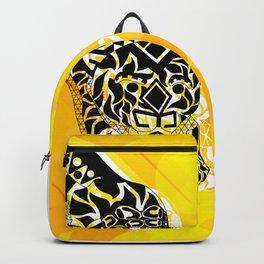 jaguars in gold ecopop Backpack