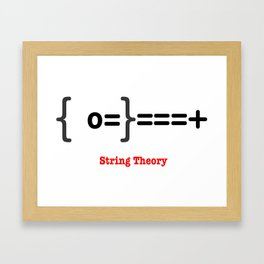 String Theory Framed Art Print