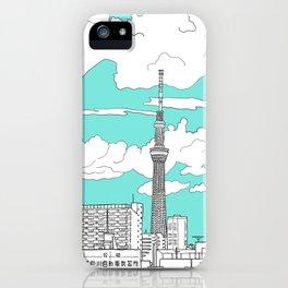 Tokyo Sky Tree iPhone Case