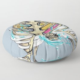 Clean a dishes Floor Pillow