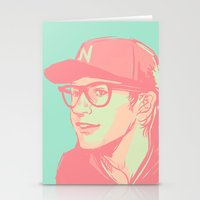 bubblegum Stationery Cards featuring Bubblegum by Rosketch
