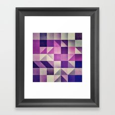 :: geometric maze VI :: Framed Art Print