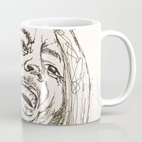 marley Mugs featuring Marley by Deelara