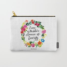 Positive Source of Energy Carry-All Pouch