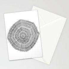 Vacancy Zine Mandala I B&W Stationery Cards