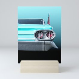 US American classic car 1961 Sedan Deville Mini Art Print