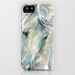 Funny Horse Exuberant Spirit iPhone Case
