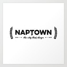 Naptown | the city that sleeps | Indianapolis Art Print