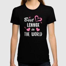 Lennox Name, Best Lennox in the World T-shirt