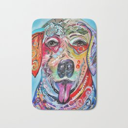 Laughing Labrador Bath Mat