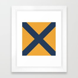 "NAUTICAL Boat Flag ""5"" Framed Art Print"