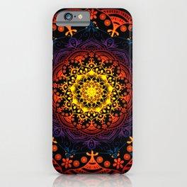 Mandala Mantra Meditation Spiritual Yoga Zen Hippie Bohemian iPhone Case