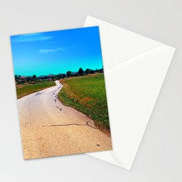Uneven relations Stationery Cards