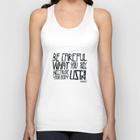body Tank Tops featuring body by smaomao