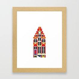 Canal House Framed Art Print
