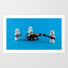 Imperial Gunnery Crew Art Print