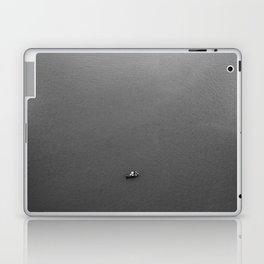 Lonely fisherman Laptop & iPad Skin