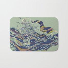 OCEAN AND LOVE Bath Mat