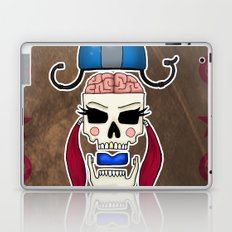 Skater Skull by RonkyTonk Roller Derby Laptop & iPad Skin