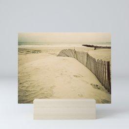the seashore is calling me Mini Art Print