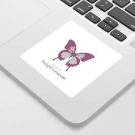 Ulysses Butterfly 14 Sticker