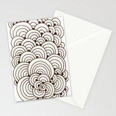 Dot Cluster 4 Stationery Cards