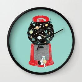 My childhood universe Wall Clock